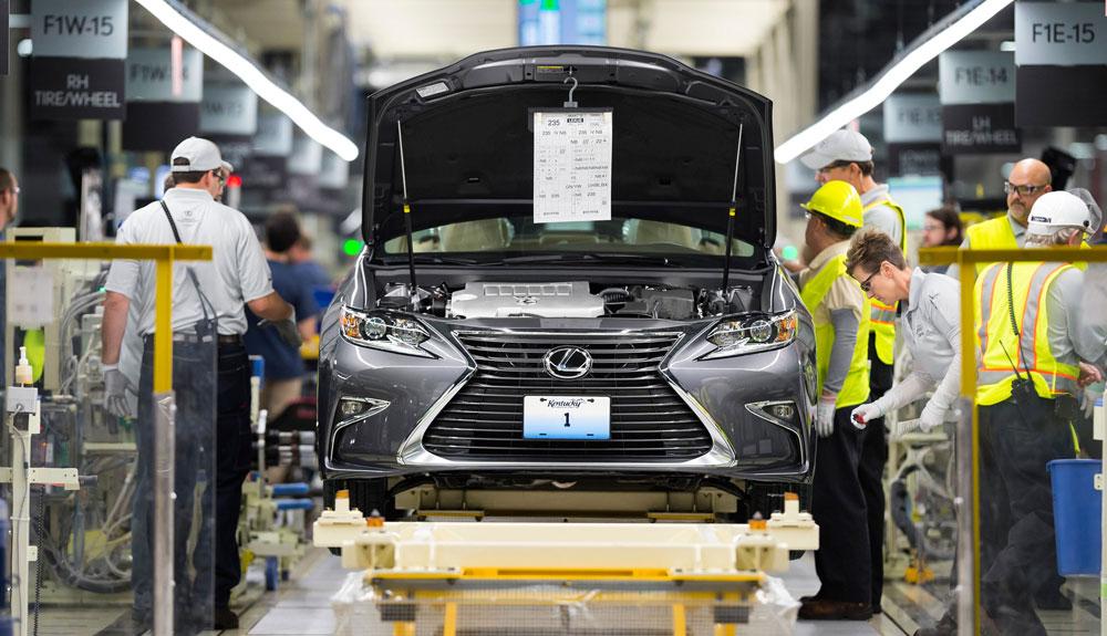 Lexus ES Kentucky Manufacturing