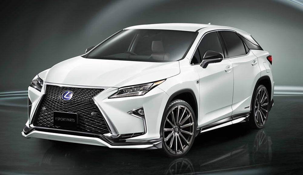 TRD Japan Releases Body Kit for 2016 Lexus RX | Lexus ...