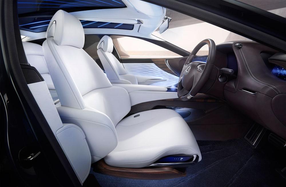 Lexus LF-FC Front Seats
