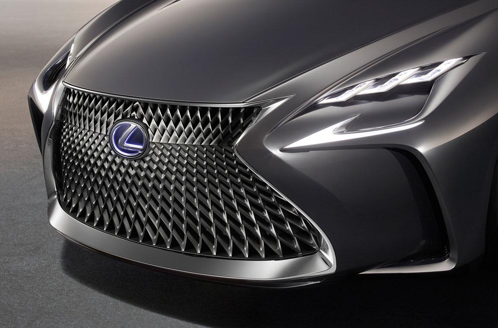 Lexus LF-FC Front