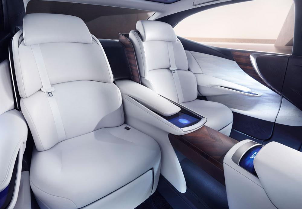 Lexus LF-FC Rear Seats