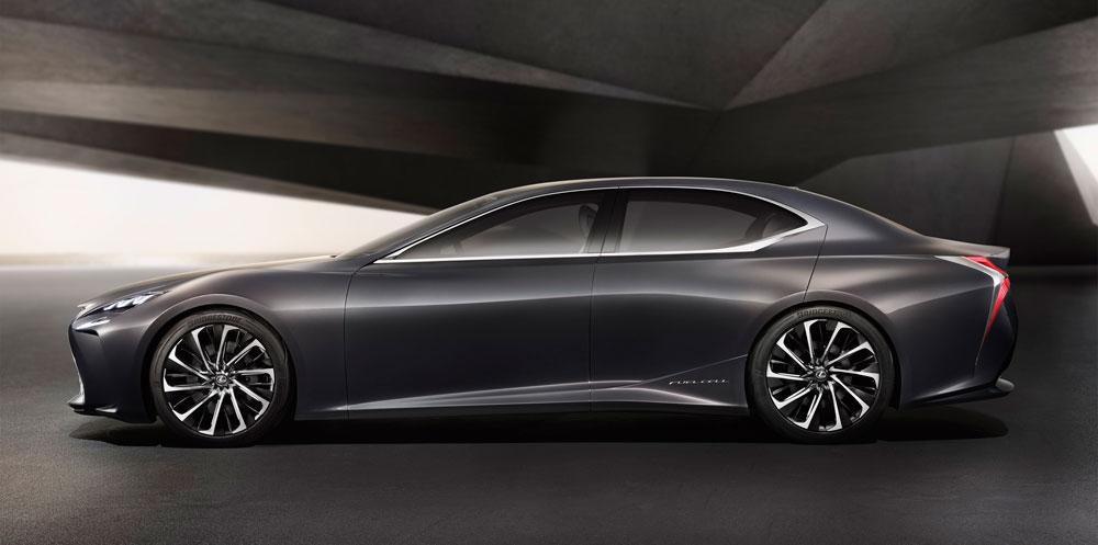 Lexus LF-FC Side