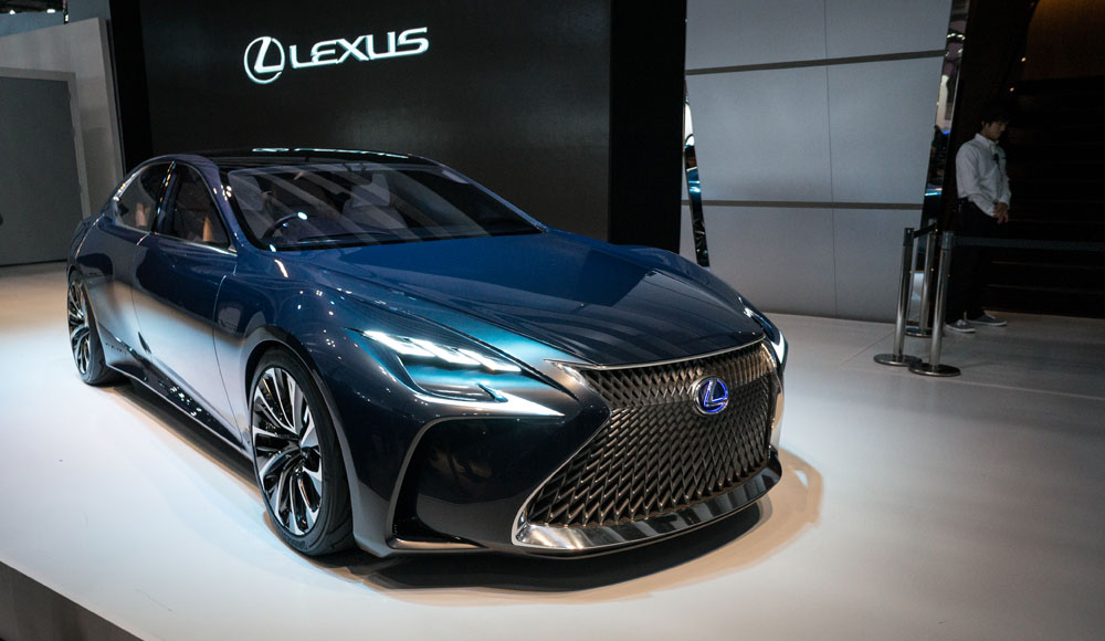 Lexus LF-FC Videos Live