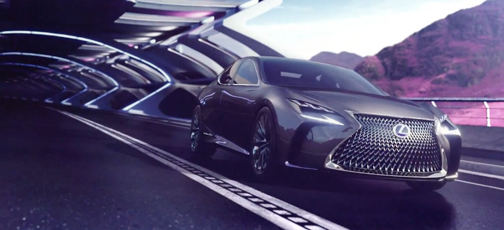 Lexus LF-FC Video