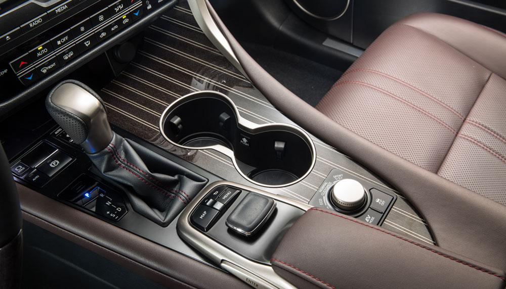 Lexus RX Aluminum Wood Trim