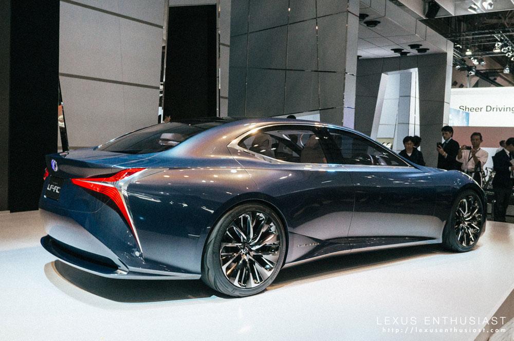Lexus LF-FC Rear
