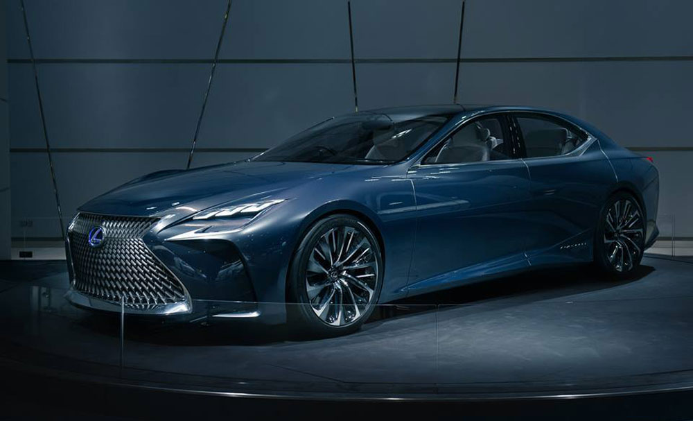 Lexus LF-FC Concept Photos International