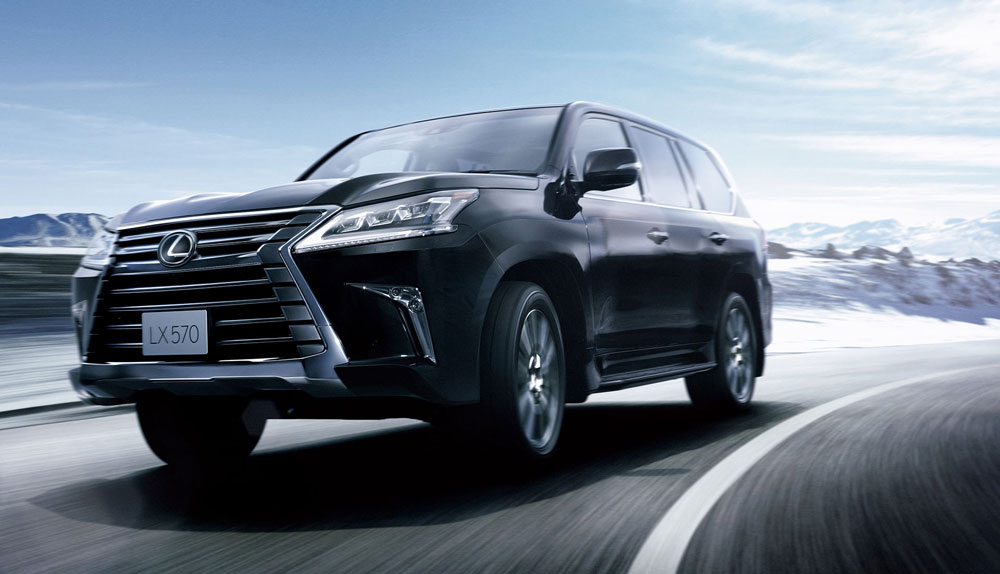 Lexus LX Japan Sales