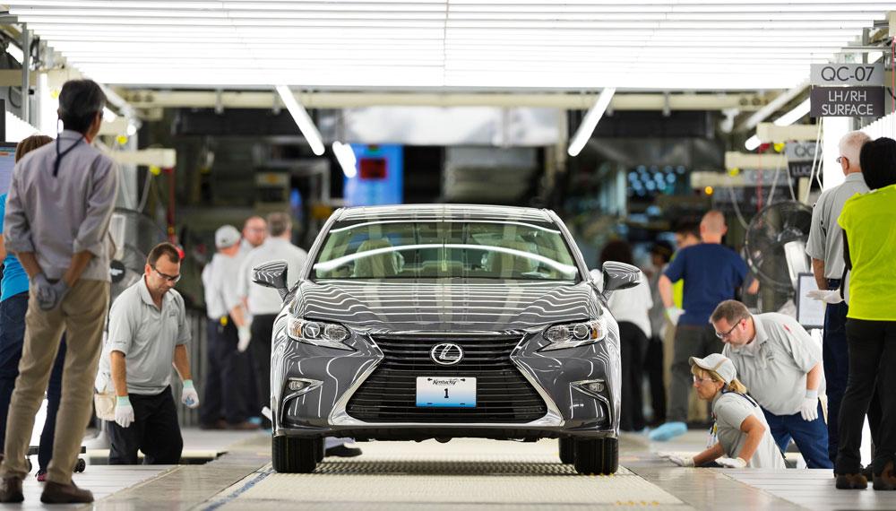 Lexus Manufacturing China