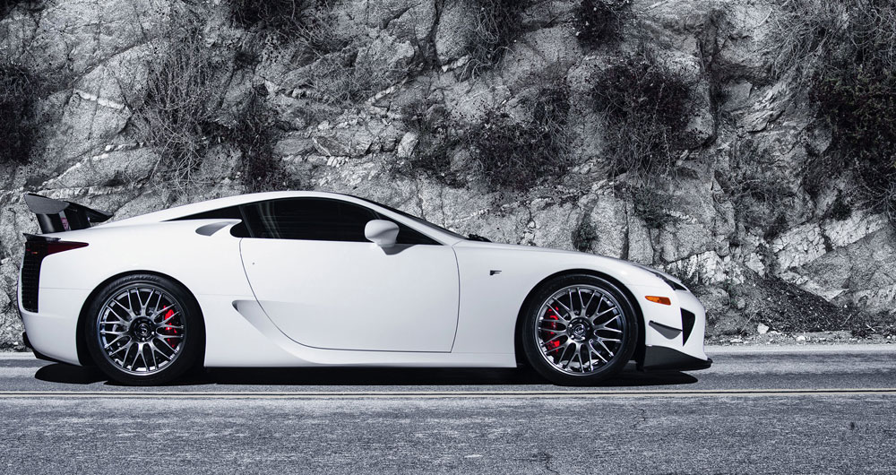 lexus lfa decades away