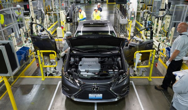 The New York Times Visits the Lexus ES 350 Manufacturing Plant in Kentucky
