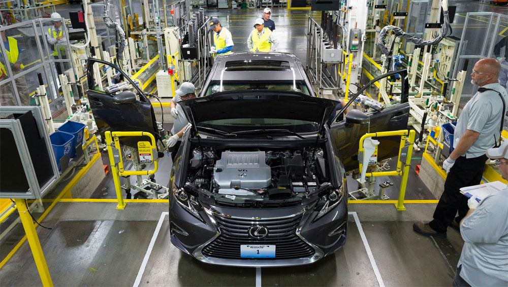 Lexus ES Manufacturing Kentucky
