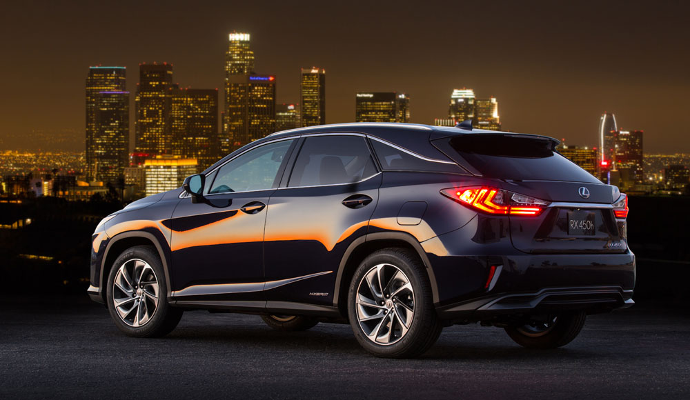 2016 Lexus RX Named Top Luxury SUV in Kelley Blue Book Best Buy ...