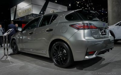 Lexus USA Debuted A Special Edition CT 200h F SPORT At The LA Auto Show  This Week U2014 Here Are Some Photos Of The Package, Courtesy Of Kaizen Factor: