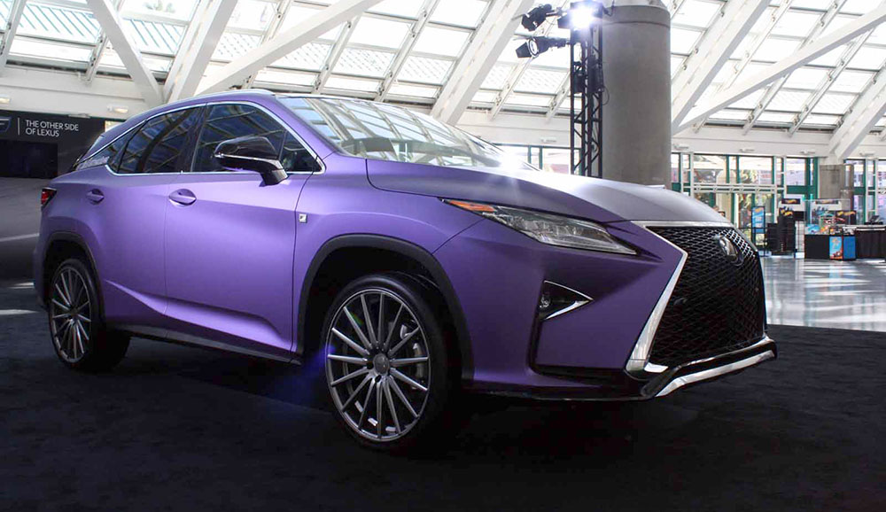 Gallery  Modified Lexus Vehicles On Display At La Auto