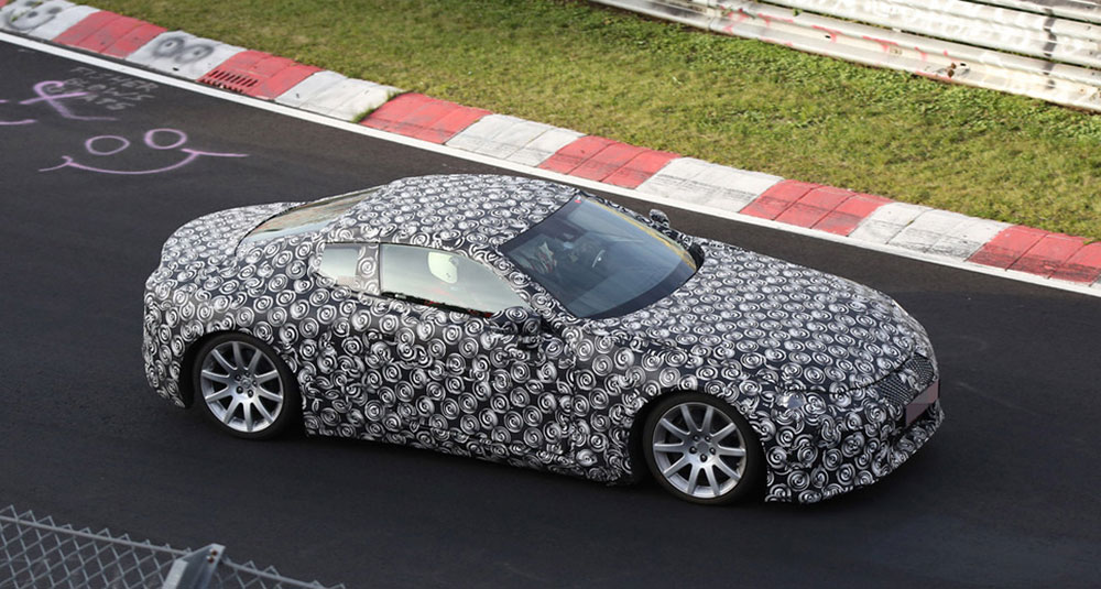 Lexus LC Spotted