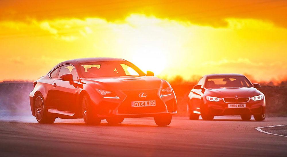Lexus RC F & BMW M4