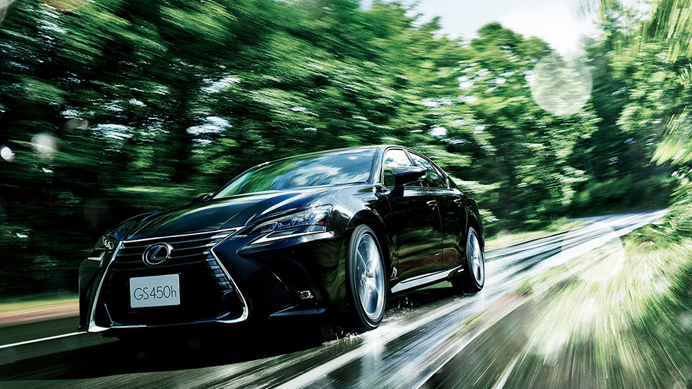 Lexus GS Video Japan