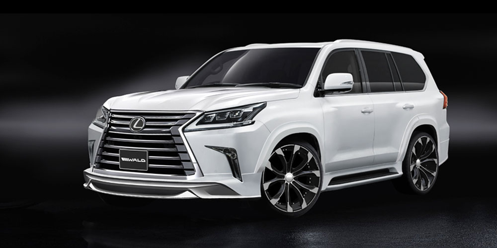 Lexus LX Wald International Rendering