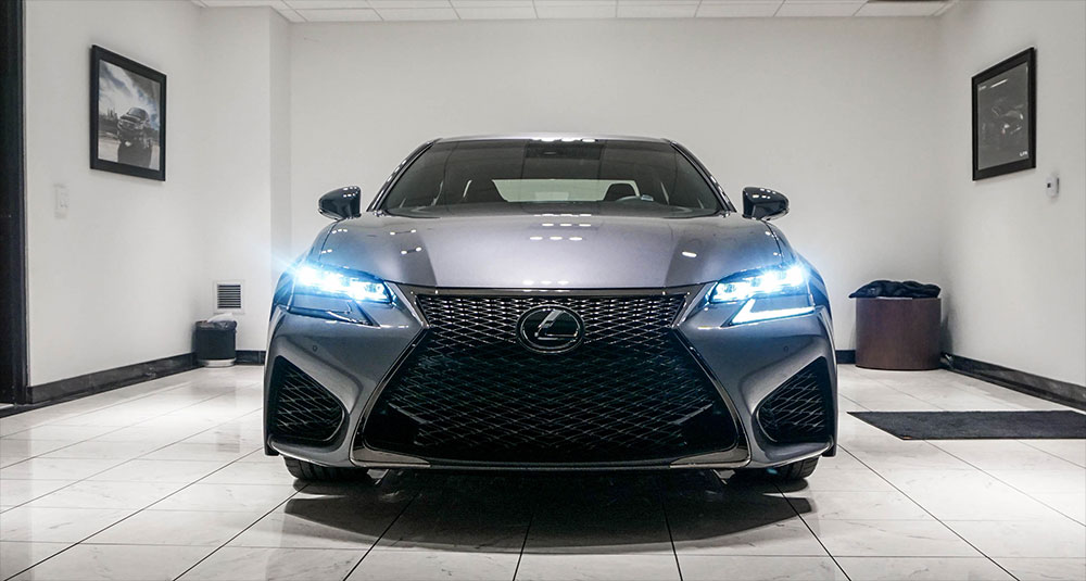 Lexus GS F First Sold USA