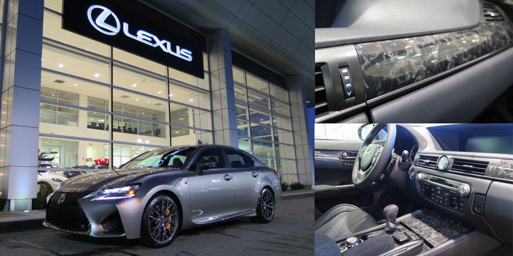 Lexus GS F CFRP Trim