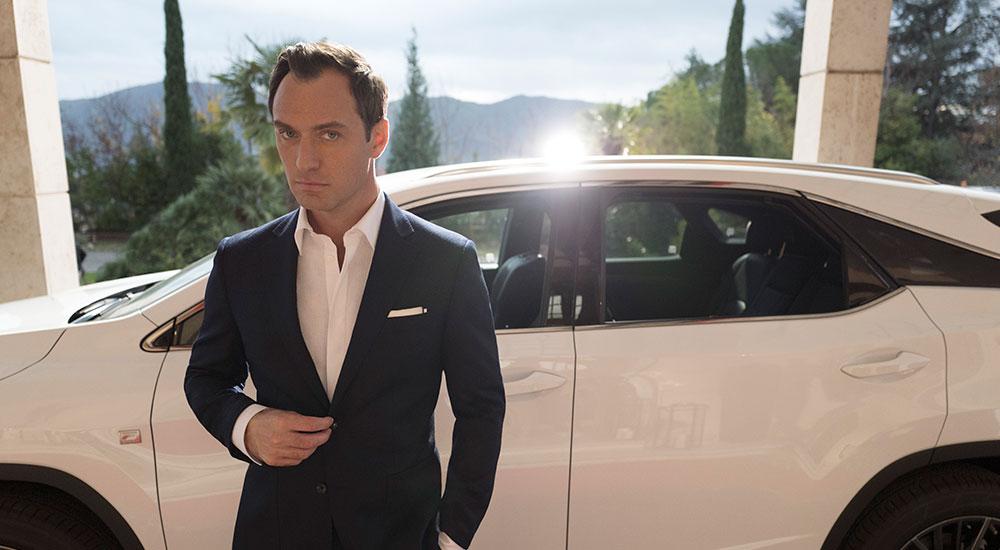 Lexus RX Jude Law