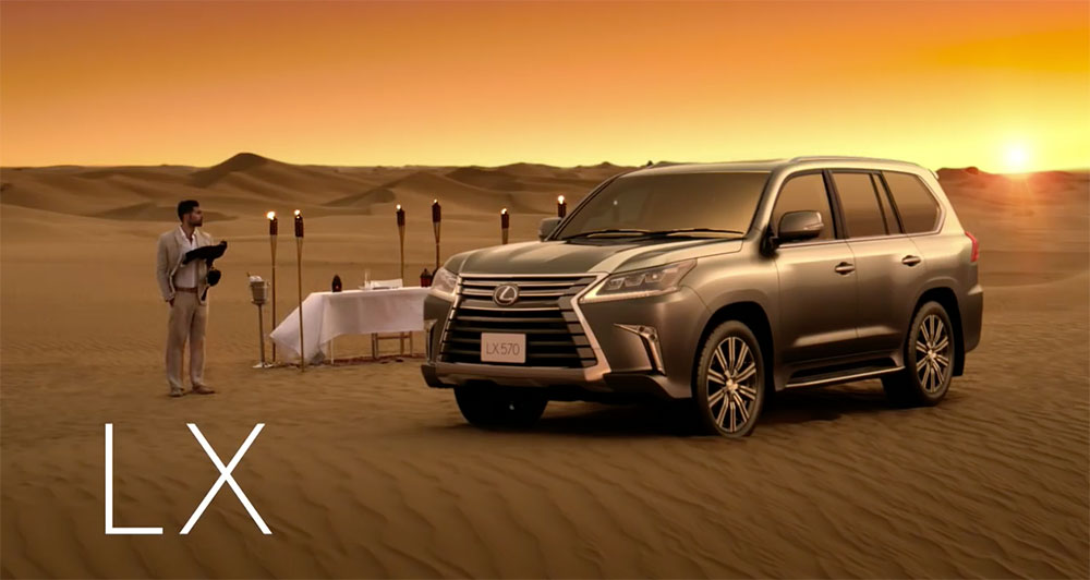 Lexus LX Dubai Launch
