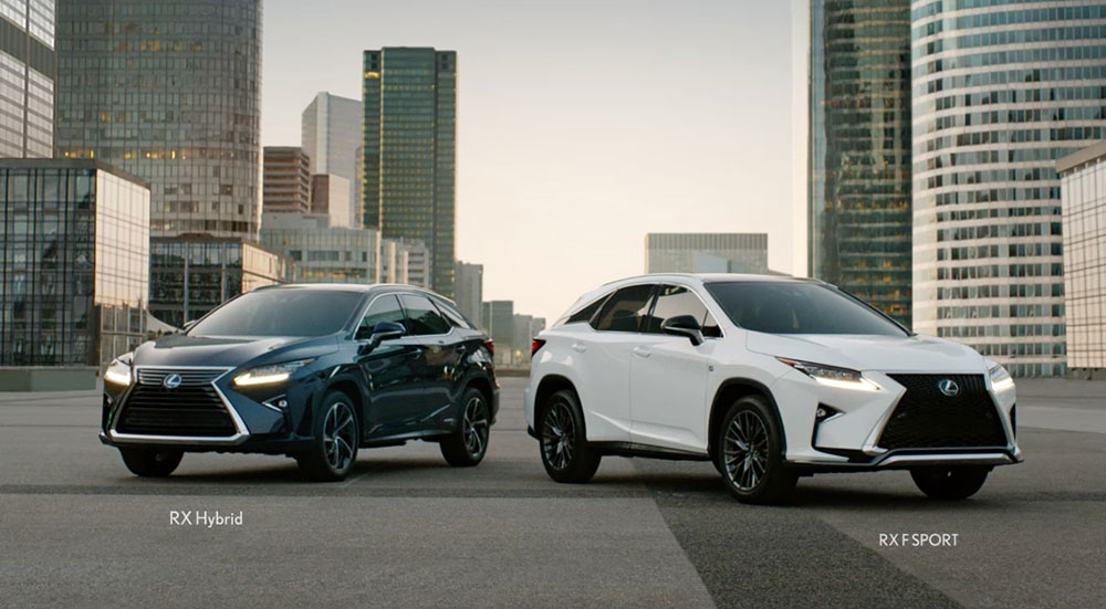 Lexus Rx Commercials Usa