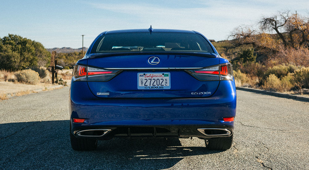 Lexus GS F SPORT 200t Rear