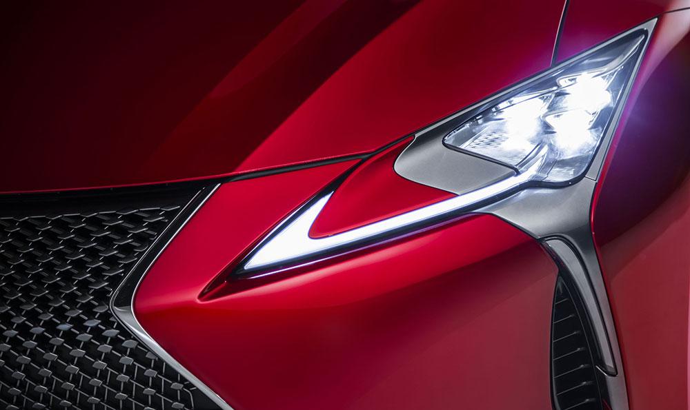 Lexus LC 500 Headlight