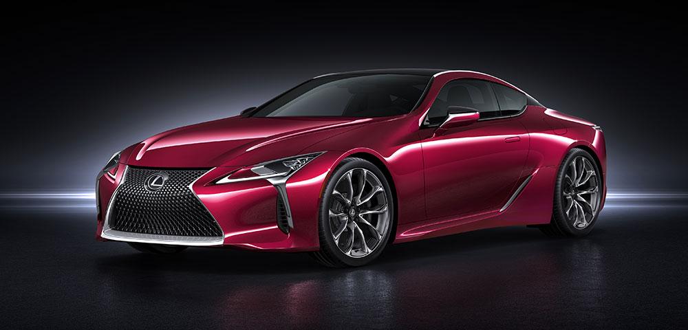Lexus LC 500 Revealed