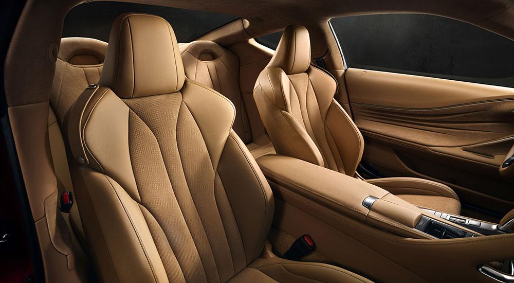 Lexus LC 500 Front Seats
