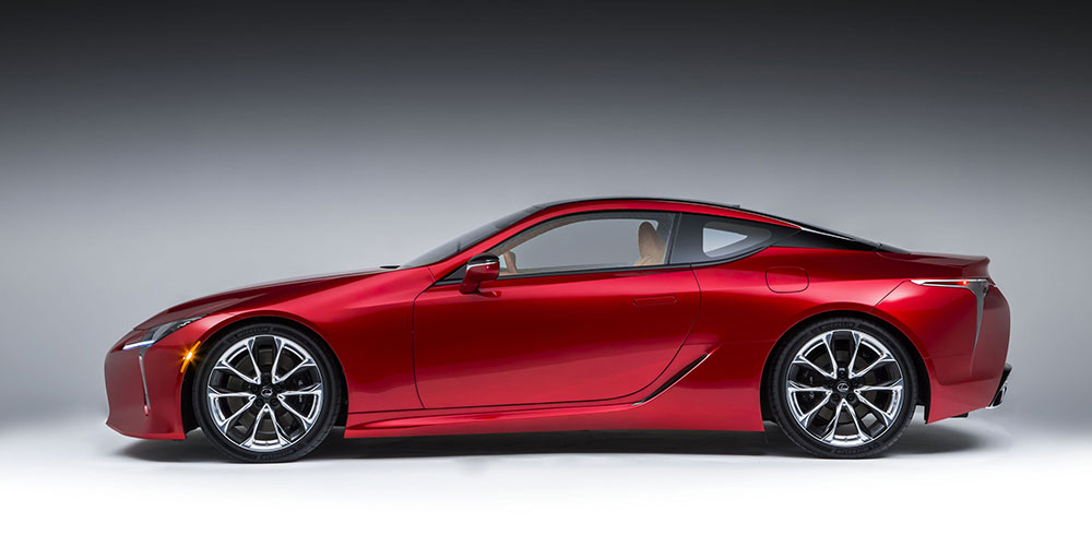Lexus LC 500 Debut in Detroit