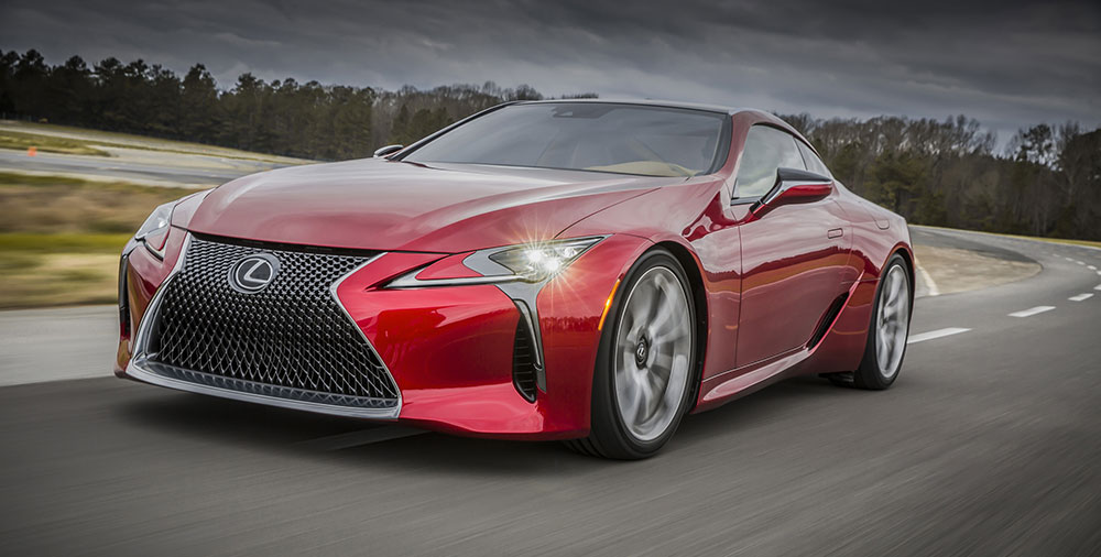Lexus LC 500 Photo Gallery