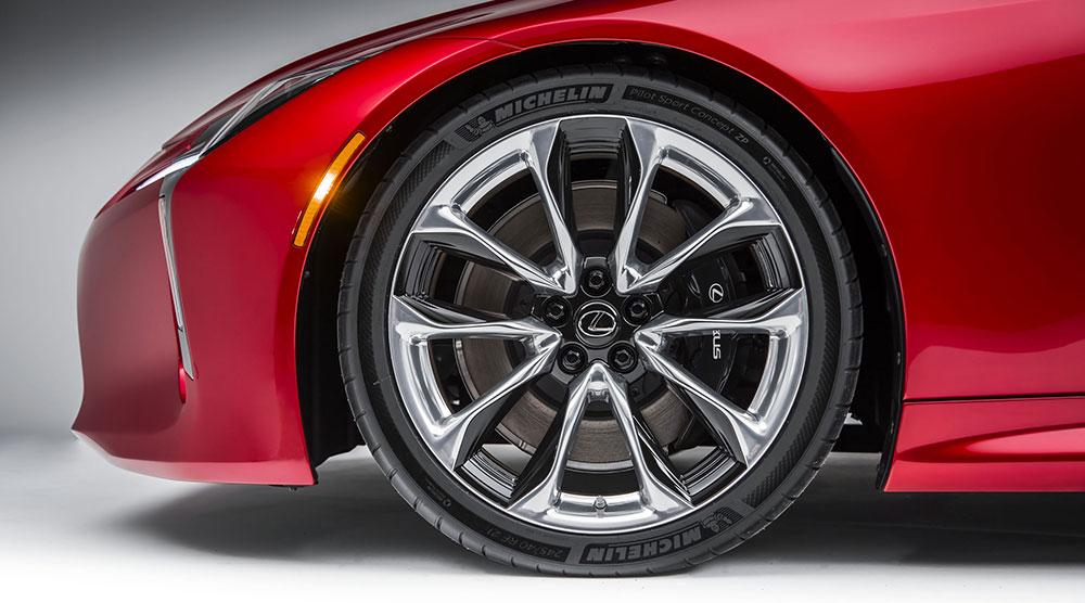 Lexus LC Run Flats