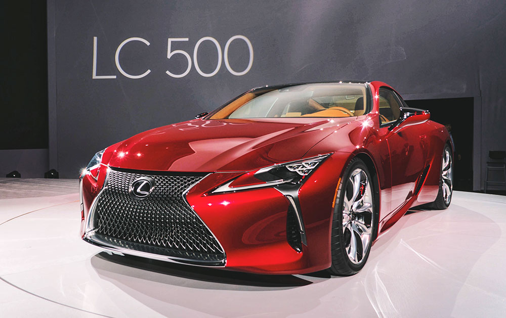 lexus lc 500 first impressions. Black Bedroom Furniture Sets. Home Design Ideas