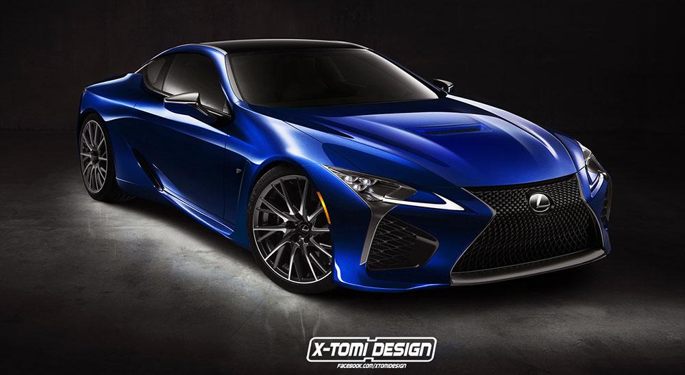 Lexus LC F X-Tomi Design