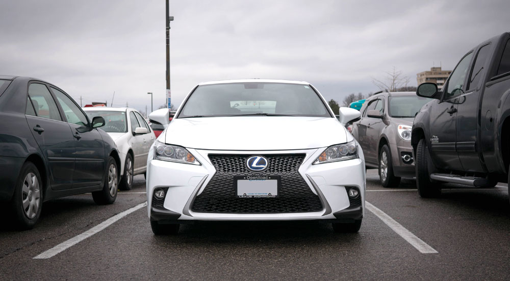 Lexus CT 200h Blog: Parking