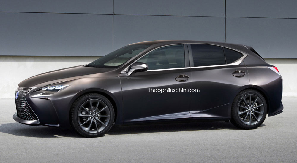 Lexus CT Next Generation Rendering Front