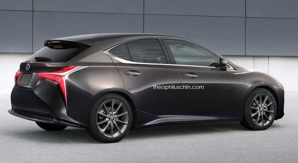 Lexus CT Next Generation Rendering Rear