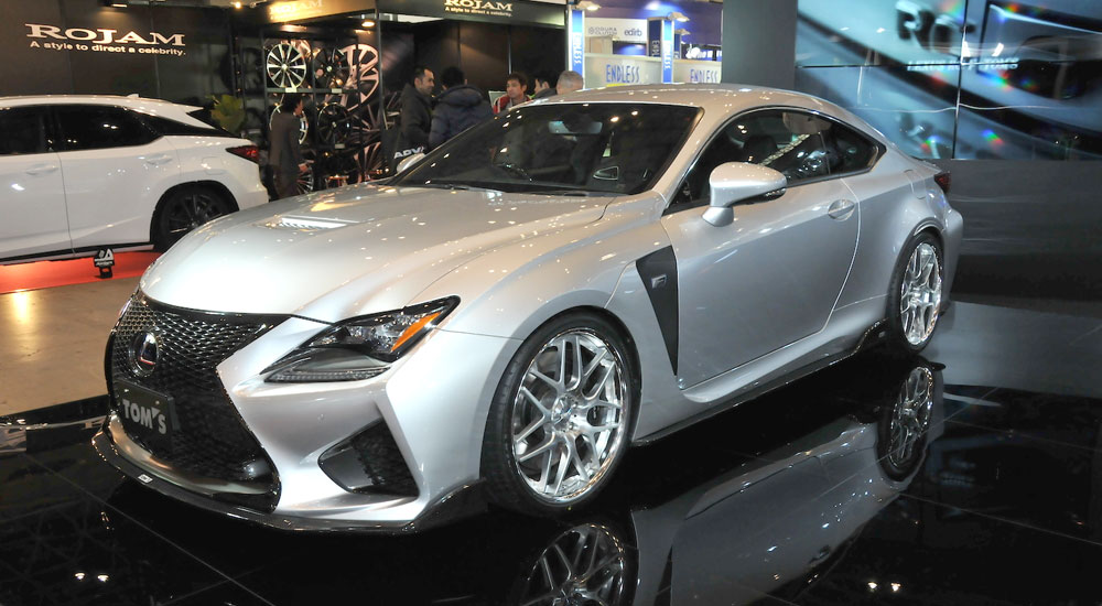 Lexus RC F TOM'S Japan