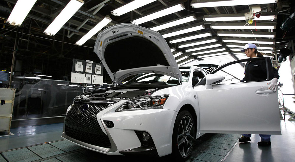 Lexus CT Production