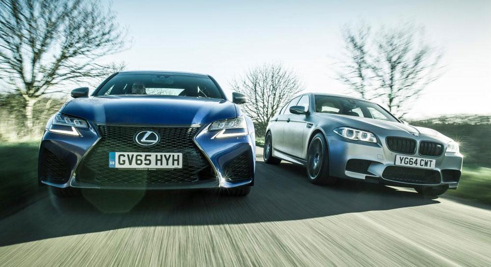Lexus GS F vs BMW M5 30 Jahre