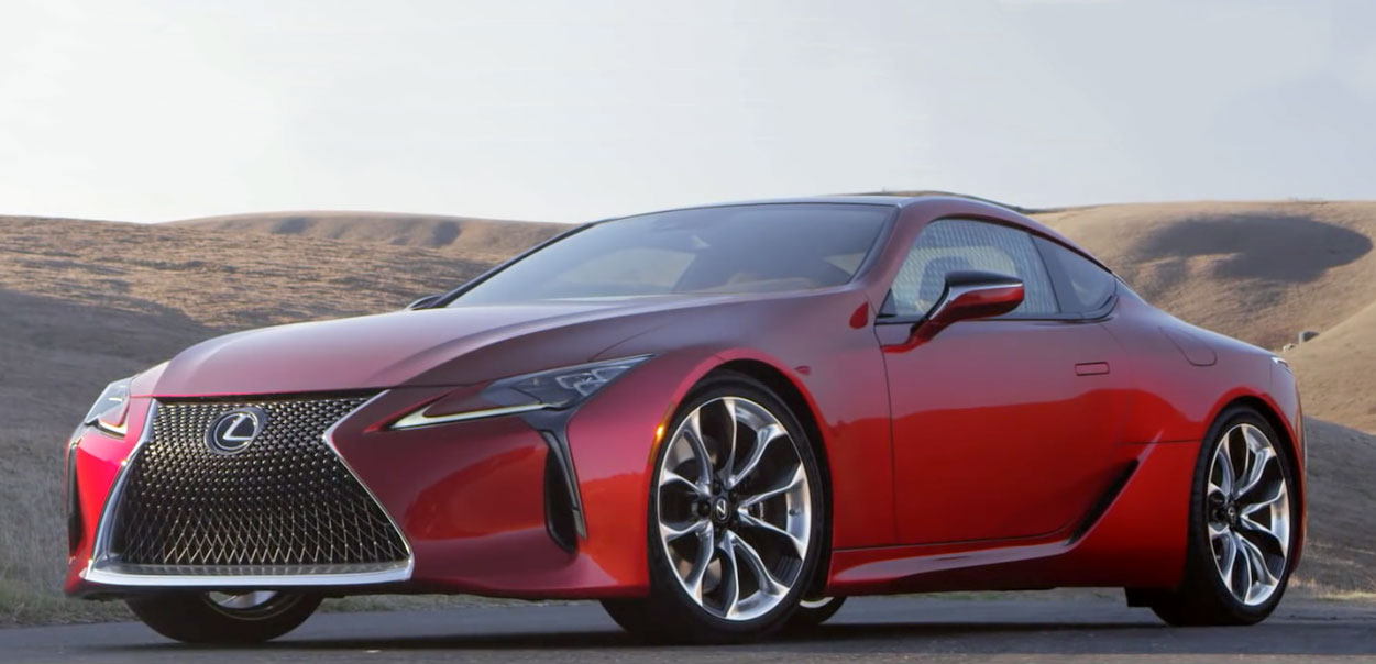 Lexus LC 500 in Motion