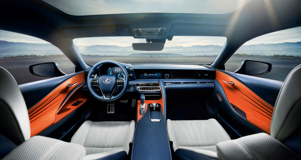 Lexus LC 500h Interior