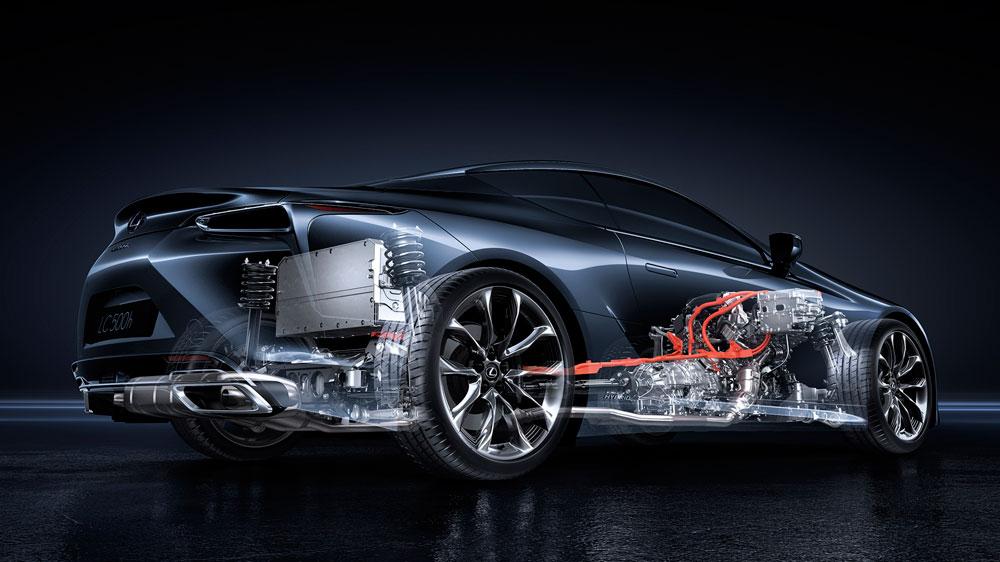 Lexus LC 500h Powertrain 2