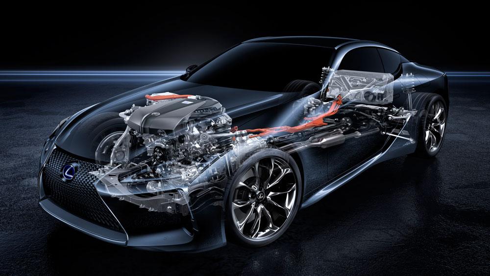 Lexus LC 500h Powertrain