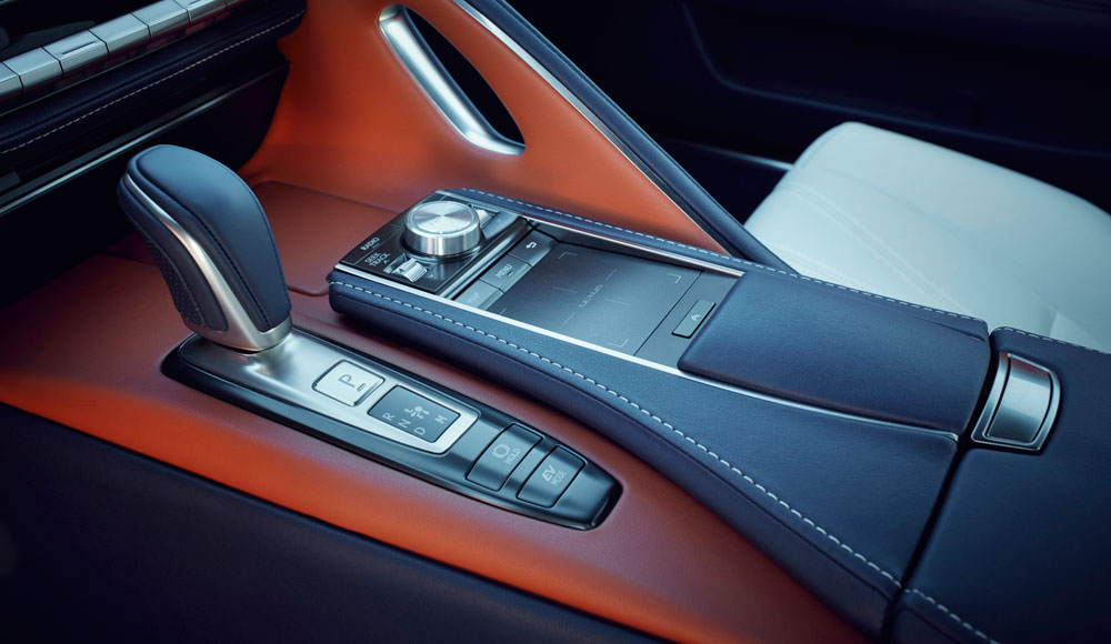 Lexus LC 500h Remote Touch