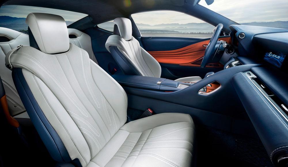 Lexus LC 500h Seats