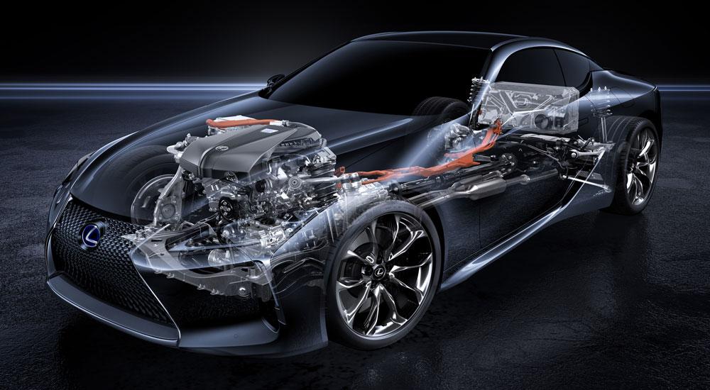 Lexus LC 500h Transmission